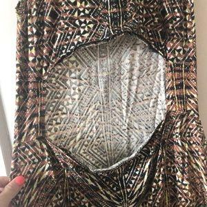 Billabong Dresses - Billabong Jungle print maxi dress